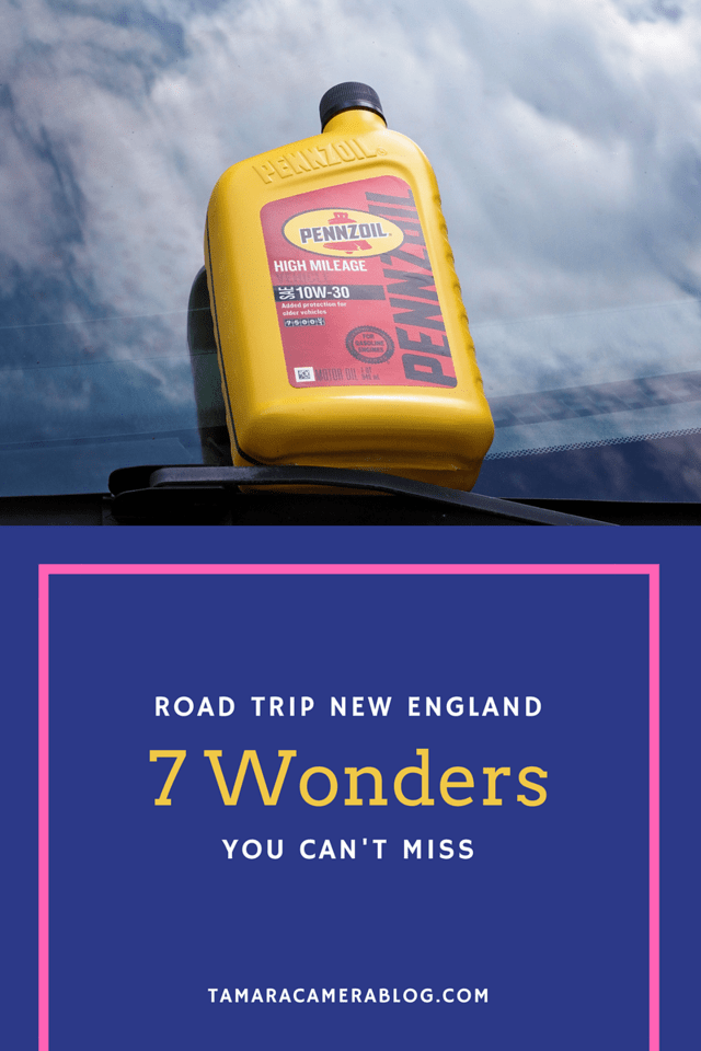 Looking to visit New England? Or maybe you already live here and you're looking for road trips. These 7 road trip wonders cannot be missed. #ad #RoadTripOil