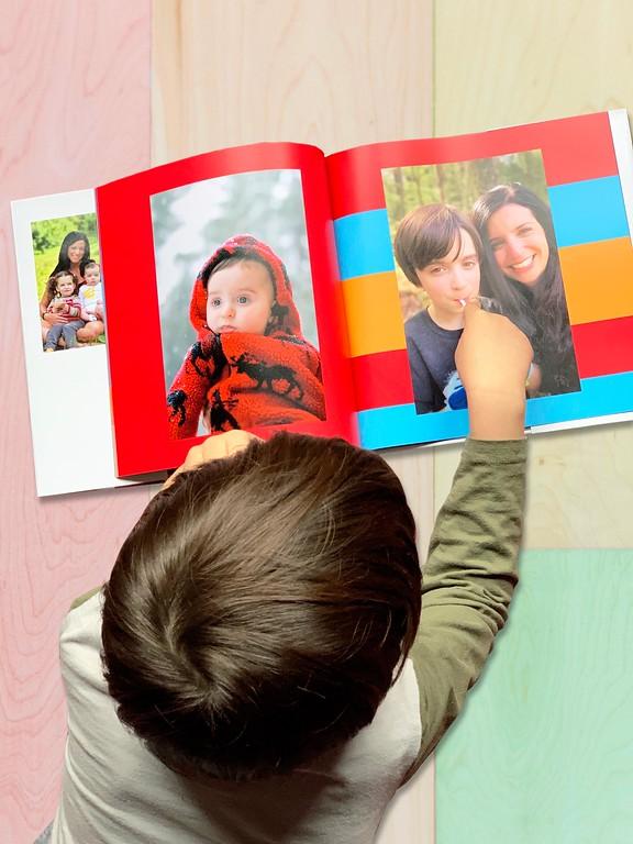 Motif photo book