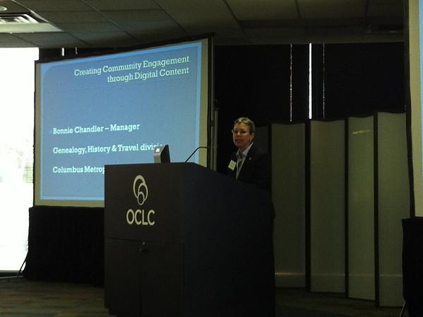 Bonnie Chandler's presentation