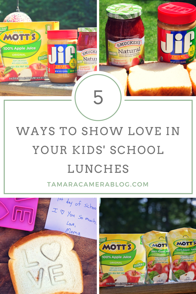 We're almost back to school here and it's time to start getting inspired for lunch packing! These 5 tips help you show love in lunches. #ad #PerfectLunchbox