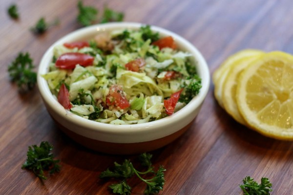 Tabouleh Salad - A traditional Lebanese Salad
