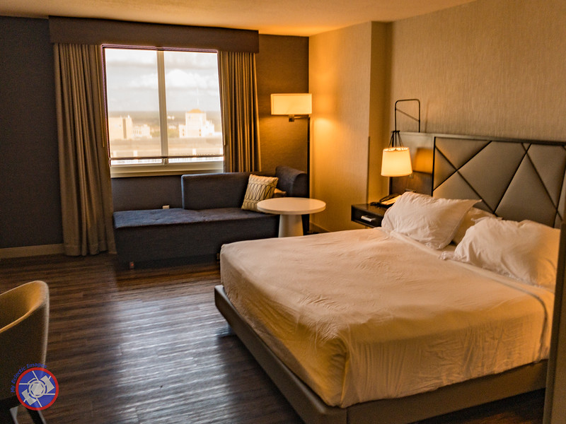 Our Spacious Room in the Hyatt Regency Rochester (©simon@myeclecticimages.com)