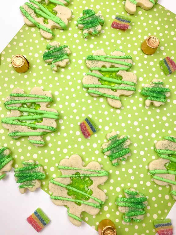 stained glass cookies!