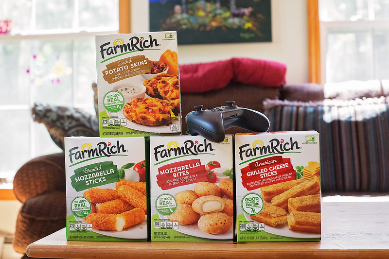 You can't have your video game party or Playdate, or just everyday gaming, without these can't miss items and snacks! Especially snacks! #ad #FarmRich