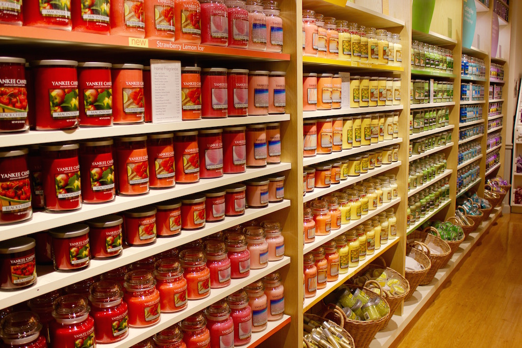 candle selection