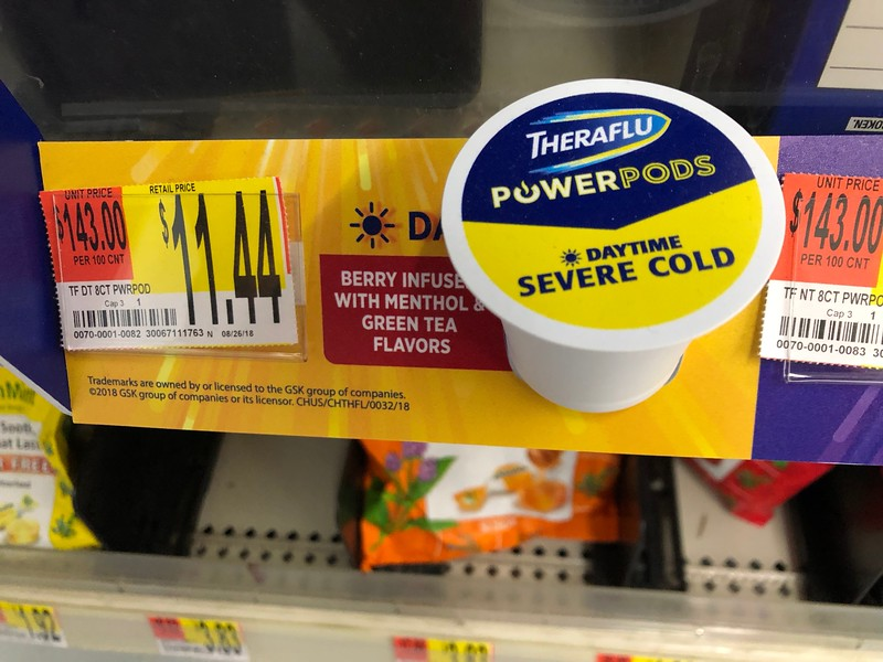 How do we fight cold and flu symptoms? Theraflu PowerPods - powerful OTC medicine to shorten and reduce the symptoms of cold and flu. #ad #DoSickDifferently