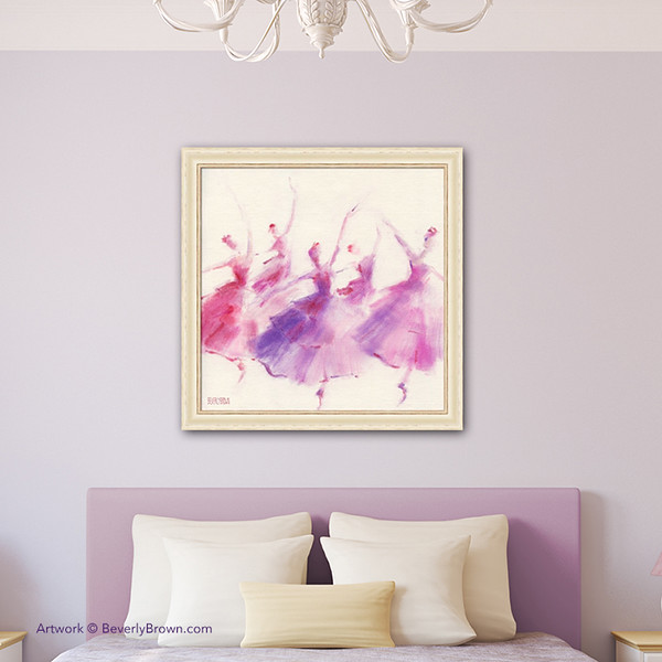 Ballerina Paintings for Sale - Classical Ballet Wall Art - Beverly ...