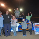 Jeremy Reed took the win in the Hornet feature race.