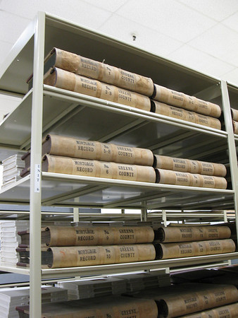 Marriage records at the Greene County Archives