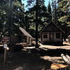 These cabins are undergoing restoration, hopefully to eventually be rented out to people.