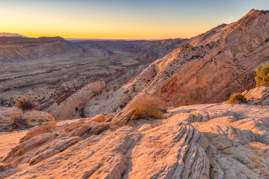 Strike Valley Overlook Capitol Reef National Park Utah