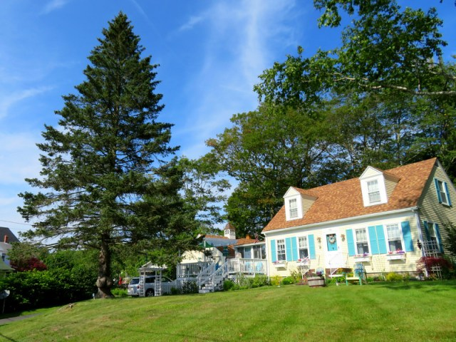 Big Bertha of Boothbay Harbor Maine's Homestead