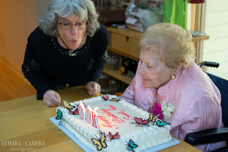 100-year-old birthday party