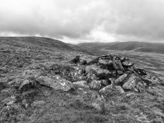 Unrecorded cairn