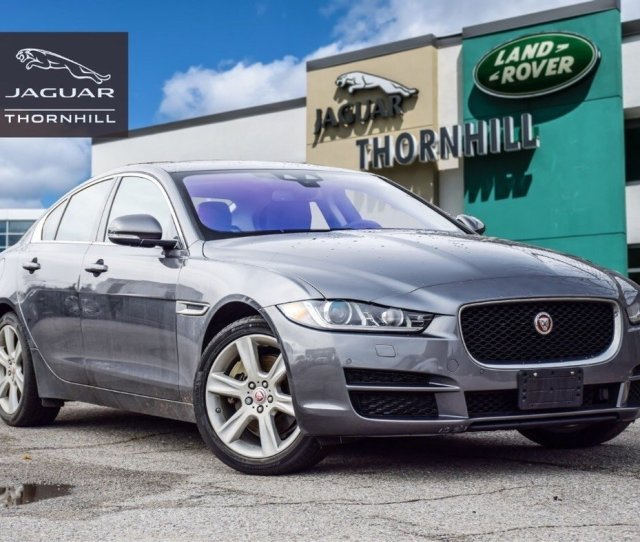 2018 Jaguar Xe For Sale In Thornhill Ontario
