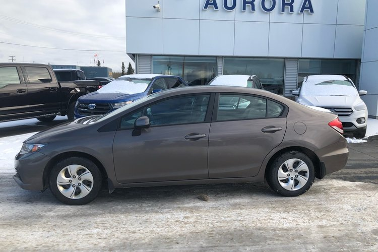 2013 Honda Civic Sdn LX for sale in Hay River, Northwest Territories