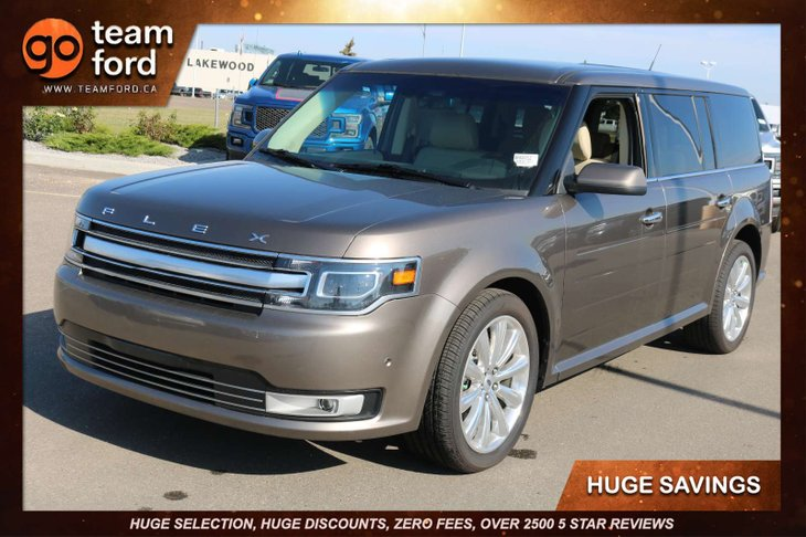 Ford Flex Limited Ecoboost For Sale In Edmonton Alberta