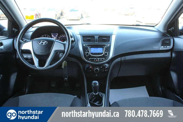 2013 Hyundai Accent L for sale in Edmonton, Alberta