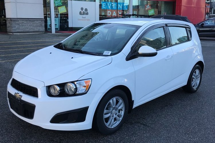 2012 Chevrolet Sonic LS for sale in Richmond, British Columbia