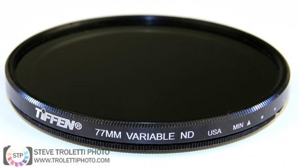 Filtre Tiffen ND gris neutre variable pour la photographie et la vidéo