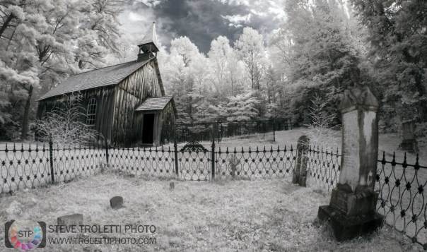 Rockingham Church and St. Leonard's Anglican Cemetery - IR