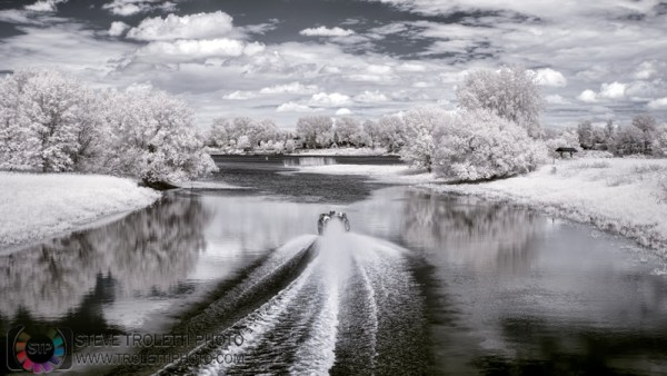 Steve Troletti Photo - Tempus Aura: INFRARED - INFRAROUGE &emdash; Le chenal La Passe - IR