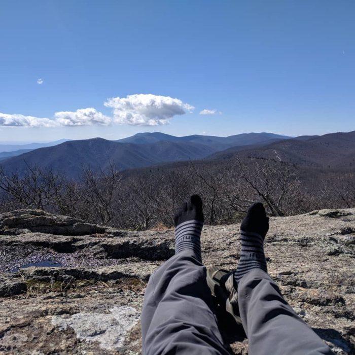 appalachian trail david miller socks sandals