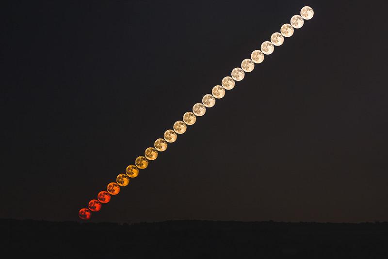 astrophotography; moon June 21st, 2016