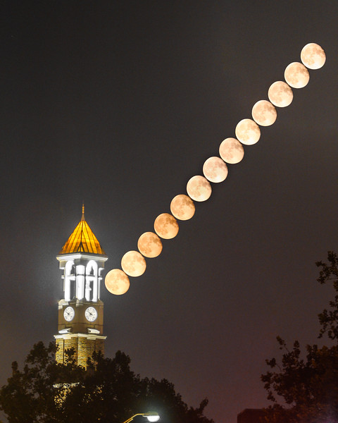 Bell; Clock; Purdue; University; lunar; moon; stack; tower August 31st, 2015