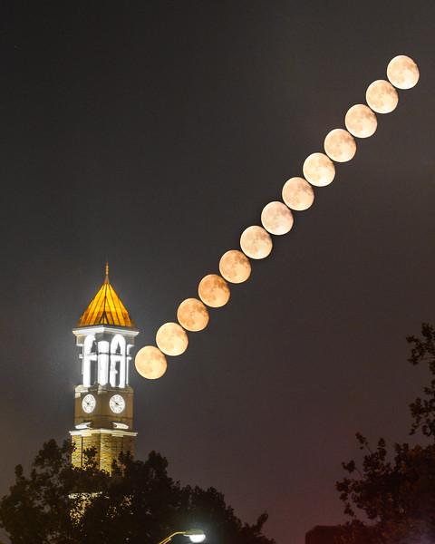 Bell; Clock; Purdue; University; lunar; moon; stack; tower August 31st, 2015