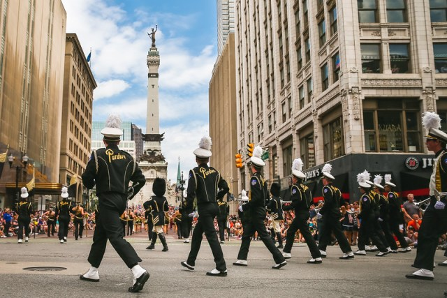 purdue; aamb; all; american; allamerican; marching; band; parade; 500; festival