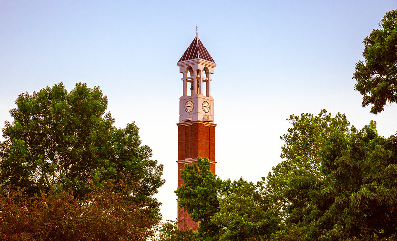 Bell; Purdue; University; campus; tower