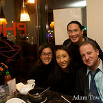 Adam, Rae, Alisa, and Jared at Saigon Bistro in Washington DC