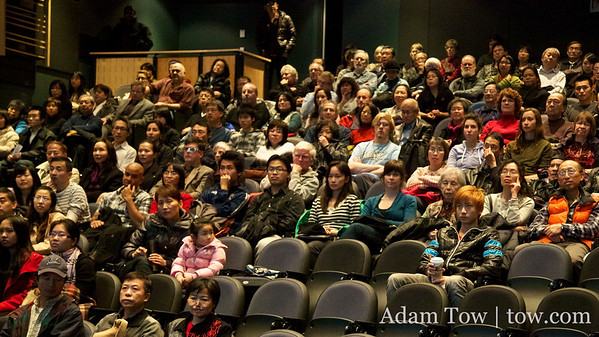 Autumn Gem crowd at SFU