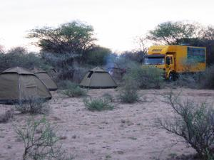First Bush Camp
