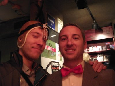Matt and PeeWee Herman (Rob)