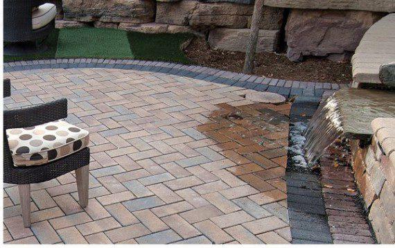Eco Priorora permeable paver patio by Unilock - Photos on Unilock Patio Ideas id=83454