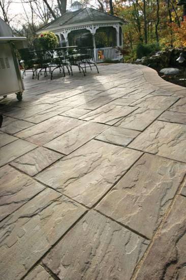 Unilock patio with Rivenstone paver - Photos on Unilock Patio Ideas id=34584