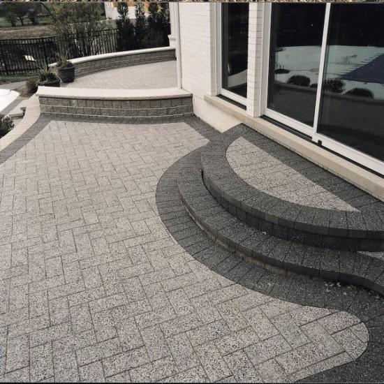 Unilock paver patio with Series 3000 - Photos on Unilock Patio Ideas id=85983