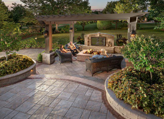 flagstone patio pictures