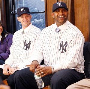 Yankee Pitchers CC Sabathia and AJ Burnett