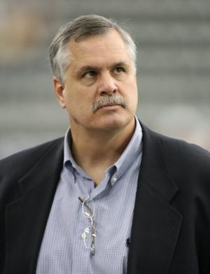 Matt Millen, shown in a 2006 file photo, is reportedly out as a president and general manager of the Detroit Lions.  (UPI Photo/Art Foxall)