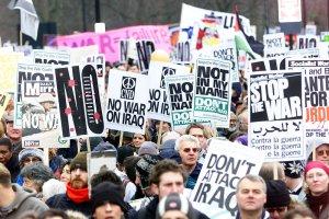 Anti-war March in London