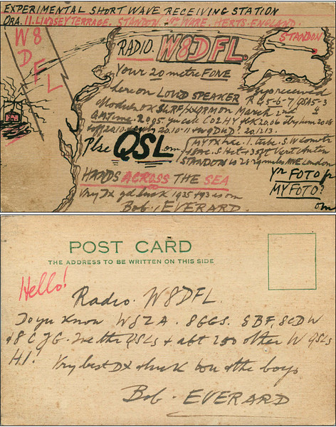 SWL Card from England