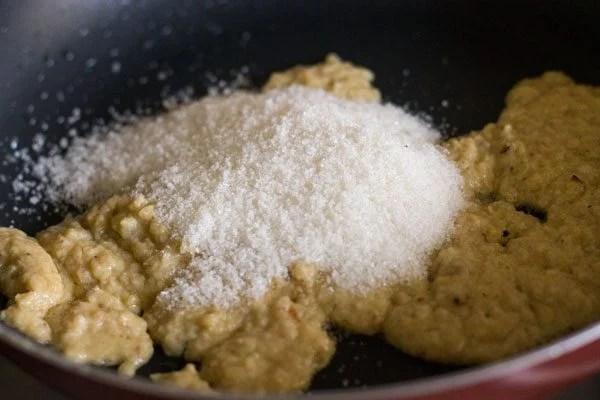 sugar for making modak recipe
