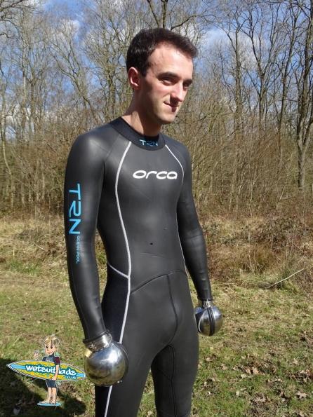 Danny wearint his Orca TRN