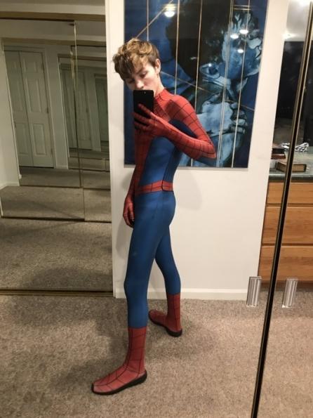 James Stirling has Spider-Man