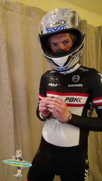 PBK Team Long Sleeve Skinsuit 2013