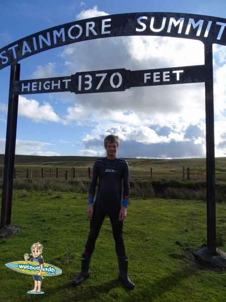 Wetsuit @ Stainmore Summit