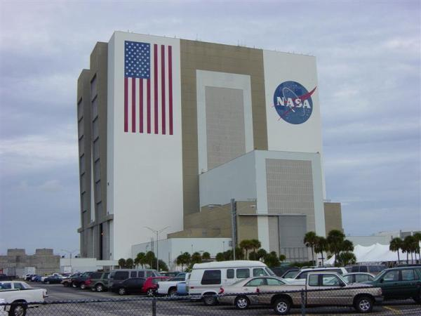 Vehicle Assembly Building at the John F Kennedy Space Center